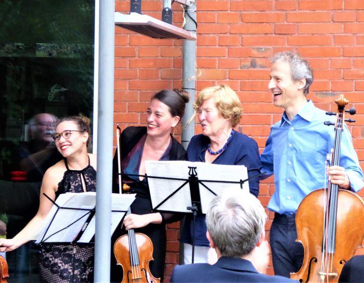 Der Freundeskreis des NDR stellen das erste Hauskonzert vor