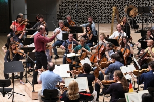 Besuch der Freunde in der Elbphilhamonie