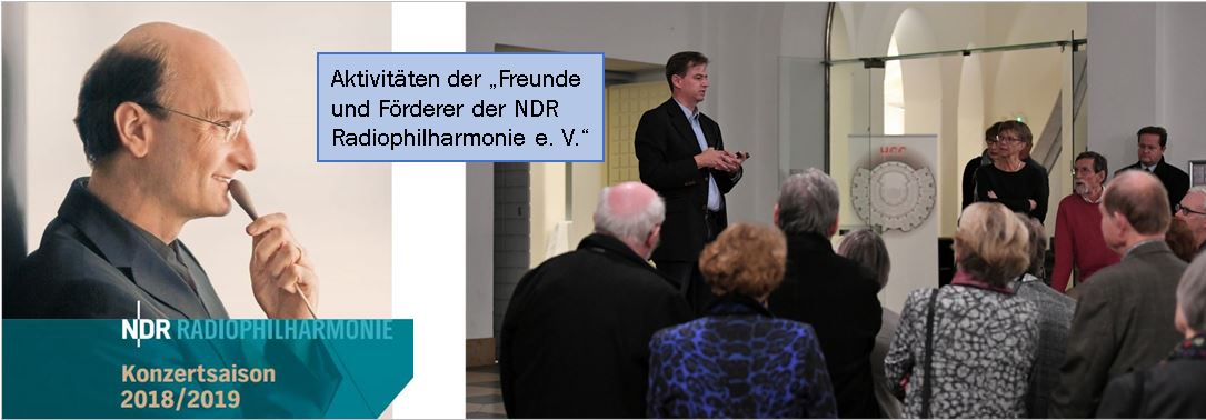 Die Freunde der Radiophilharmonie stellen die Aktivtitäten für 2018/2019 vor.