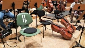 Die Freunde der Radiophilharmonie stellen die Hörerlebnisplätze vor.