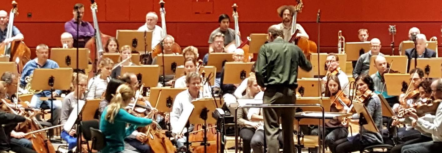 Die Freunde der NDR Radiophilharmonie stellen die Probenarbeit Manzes vor. (Foto: privat)