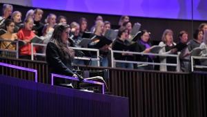 Die Freunde der NDR Radiophilharmonie stellen Susanne Bernhard (Sopran) vor.