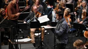 Die Freunde der NDR Radiophilharmonie stellen Ed Lyon (Tenor) vor.
