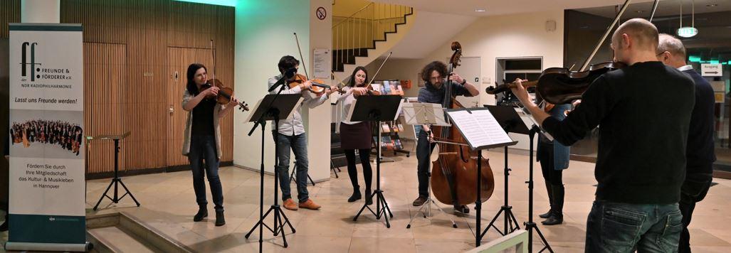 Die Freunde der NDR Radiophilharmonie stellen die Aktivitäten vor. Foto: Carsten P. Schulze