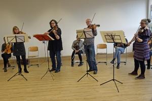 Die Freunde der NDR Radiophilharmonie stellen The Bridge vor. Foto: Sophie Brunner