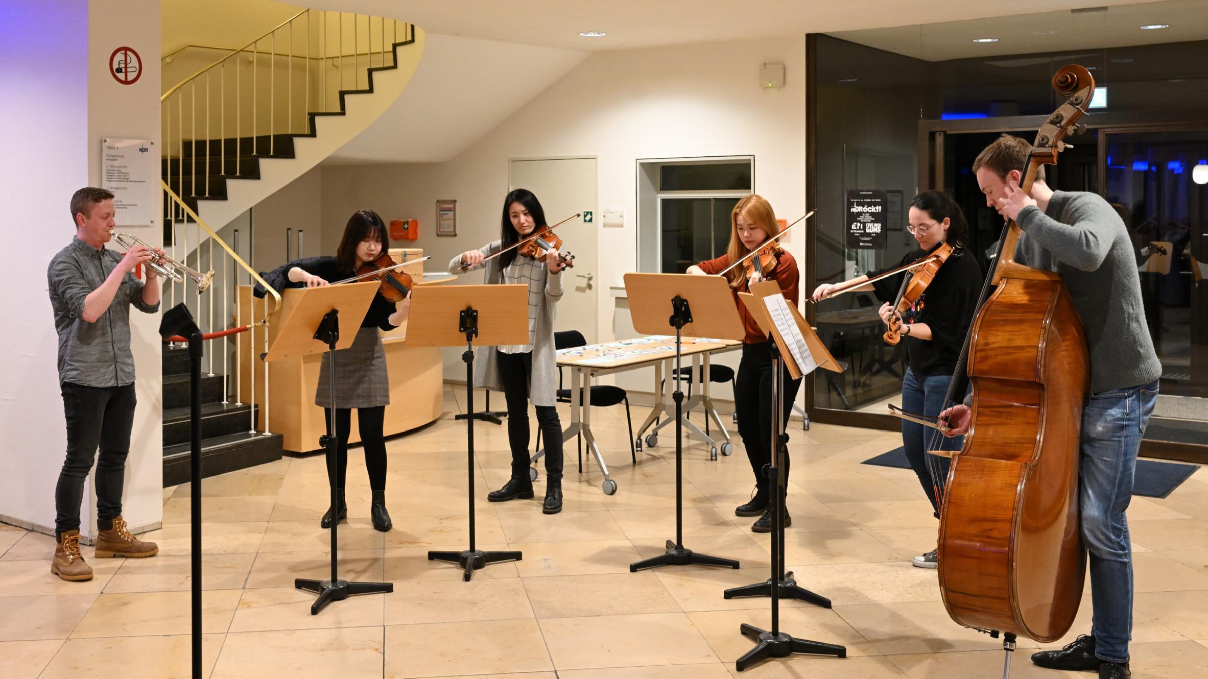 Die Freunde der NDR Radiophilharmonie stellen ihr Meet & Greet 2020 vor. Foto: Carsten P. Schulze