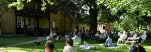 Die Freunde der NDR Radiophilharmonie stellen die Gartenserenade 2021 vor. Foto: Carsten P. Schulze