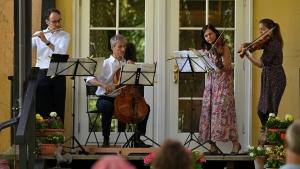 Die Freunde der NDR Radiophilharmonie stellen die Gartenserenade 2021 vor. Foto: C. Schulze