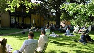Die Freunde der NDR Radiophilharmoie stellen die Gartenserenade 2021 vor. Foto: C. Schulze